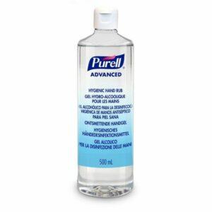 Hand Rub 500ml Round Bottle