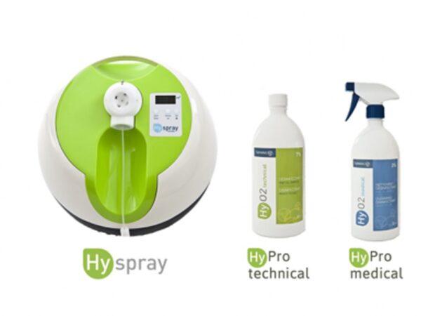 HySpray 230v Green UK Plug