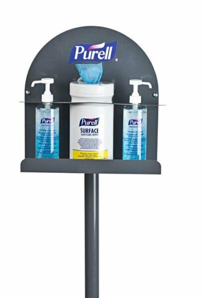 Purell 1 Sided Sanitising Station