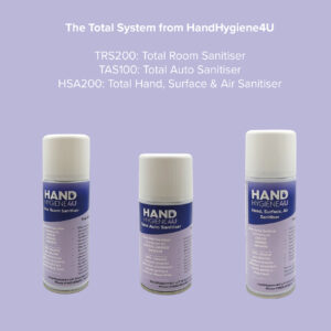 Total Room, Auto Sanitisation & Hand,Surface and Air Spray